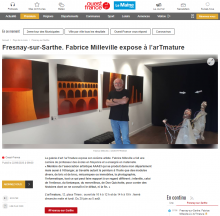 Fresnay-sur-Sarthe. Fabrice Milleville expose à l'arTmature de Ouest France